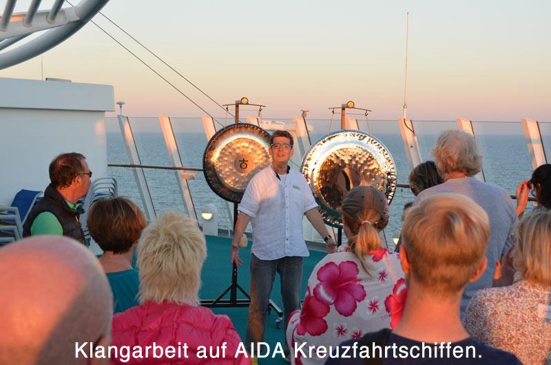 Die integrale Klangarbeit auf Kreuzfahrtschiffen der AIDA Gruppe schafft neue Perspektiven.