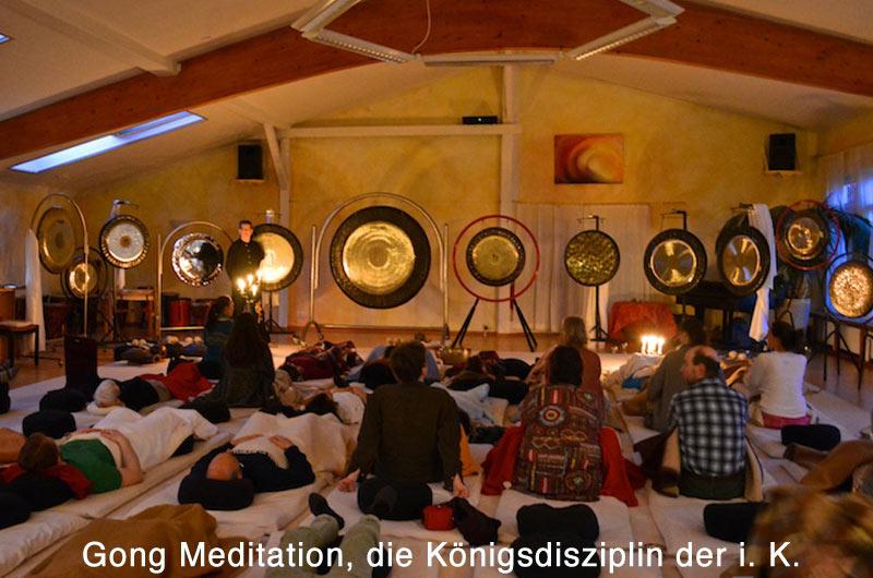 Die Gong Meditation ist die Königsdisziplin der integralen Klangarbeit.
