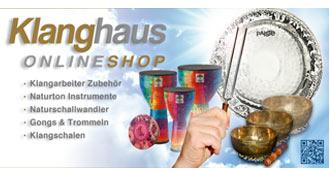 klanghaus, online shop, klangarbeiter zubehoer, instrumente, klang