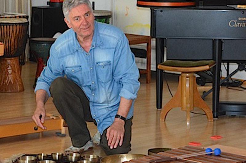 Klangreise mit Wolfgang Friederich im Klangheilzentrum