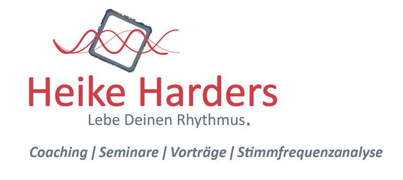 Heike Harders Visitenkarte