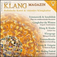 klang magazin cover 2018