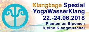 banner, klangtage, yogawasserklang, klangmuschel, planten un bloomen, integrale klangarbeit