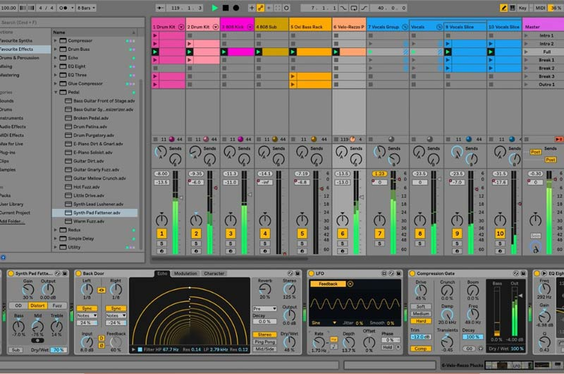 klangtage, ableton, software, neuro sounds, holoid, audio