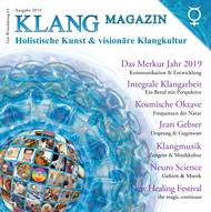 klangmagazin cover 2019