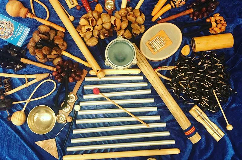 klangheilkreis, kreativitaet, gemeinsam, naturton instrumente, klangheilung