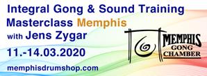 gong, sound, training, masterclass, memphis, gongchamber, jens zygar, integral
