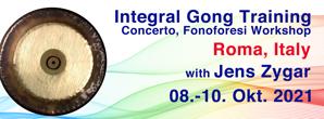 gong, training, 2021, gongtraining, integrale klangarbeit, gong, training, italy, jens zygar, fonoforesi, concerto, integral, roma