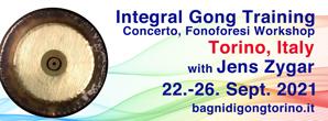 gong, training, 2021, gongtraining, integrale klangarbeit, gong, training, italy, jens zygar, fonoforesi, concerto, integral, torino