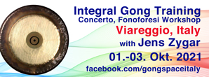 gong, training, 2021, gongtraining, integrale klangarbeit, gong, training, italy, jens zygar, fonoforesi, concerto, integral, viareggio